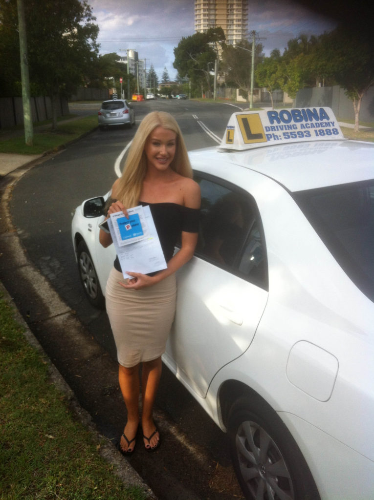 Driving Academy Students